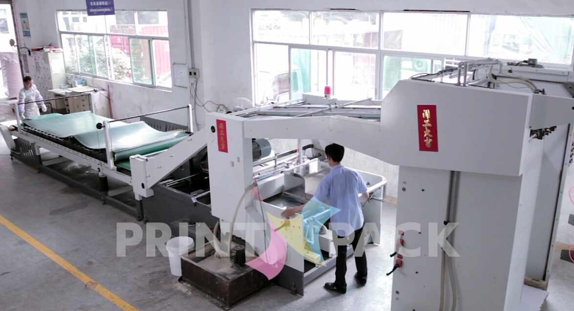 Paper Mounting Machine