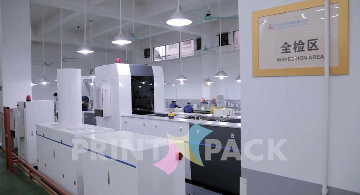 Finished Products Full- inspection Machine for printed paper cards