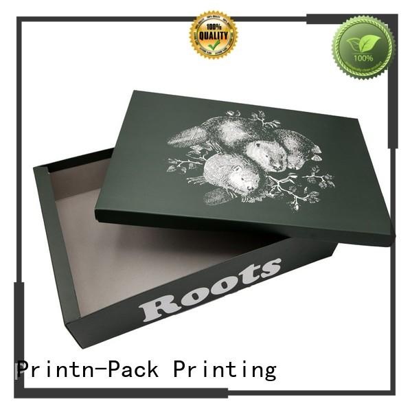 Printn-Pack with lid custom shoe boxes series for decoration