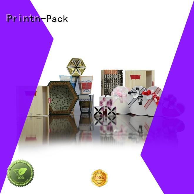 Printn-Pack large corrugated paper gift box customized for jewelry
