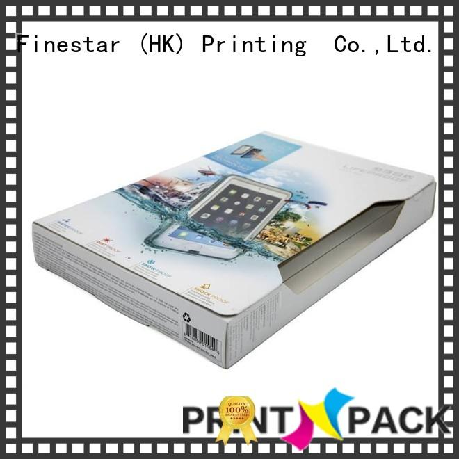 Printn-Pack glossy electronic packaging wholesale for ipad