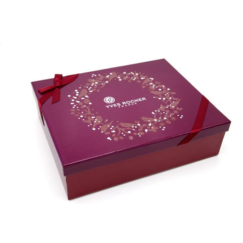 Cosmetic Paper Box with Glitter Powder