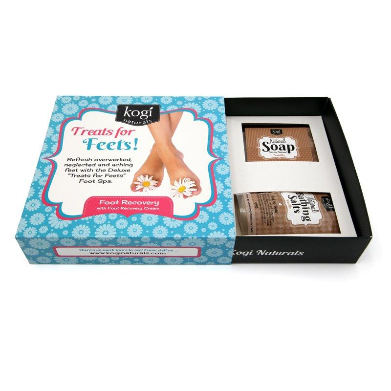 Cosmetic Paper Gift Box with Luxury Design