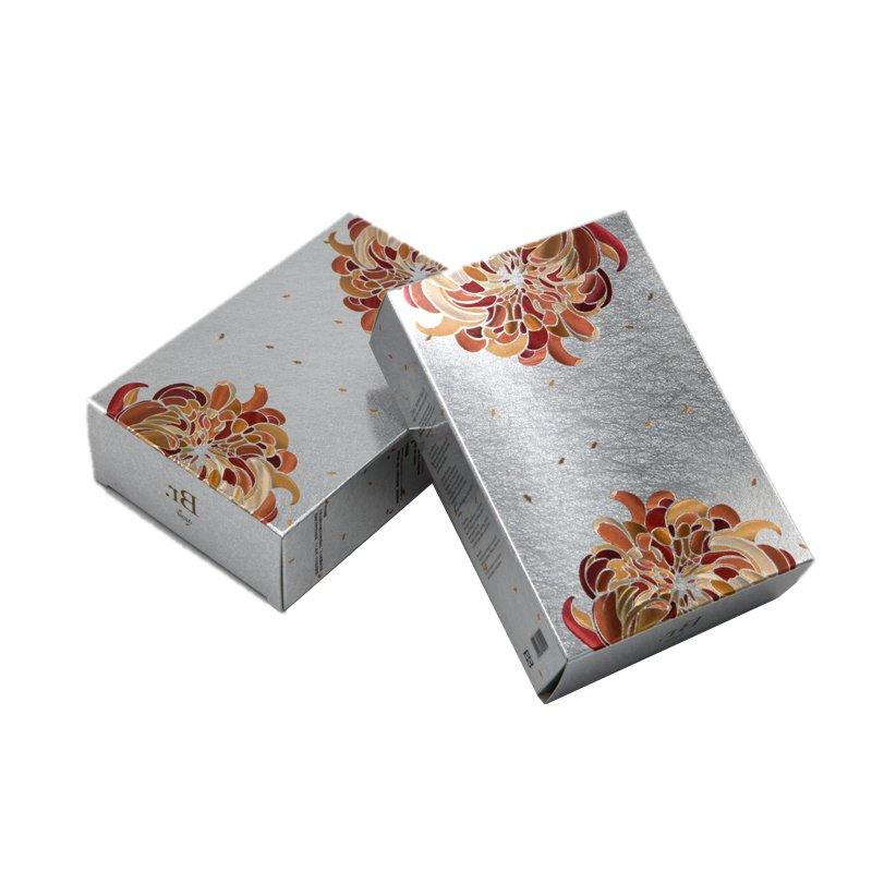 Cosmetic Paper Box Packaging with Glossy Laser Lamination