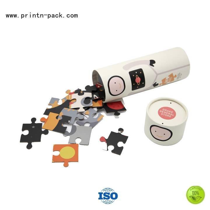 Paper Puzzle Printing tube design baby Printn-pack