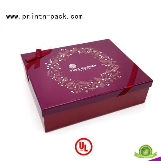 cosmetic packaging suppliers box with gift Printn-pack