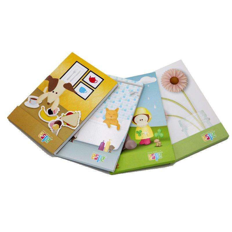 Custom Printed Softcover Paper Booklet For Children