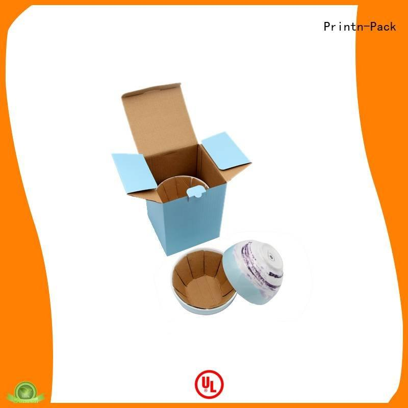 Printn-pack colored cup dish custom Printing Packaging corrugated
