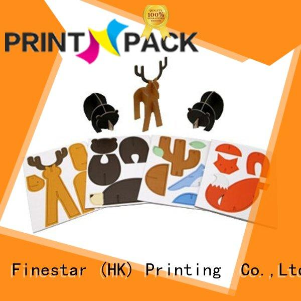 Printn-Pack corrugated toy packaging manufacturers design for cartoon puzzles