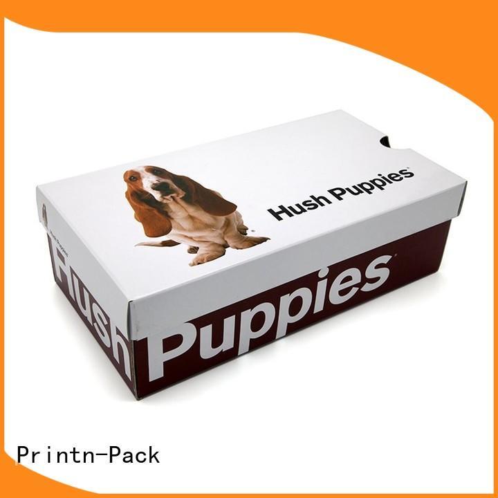 Printn-Pack modern custom shoe box packaging series for gifts
