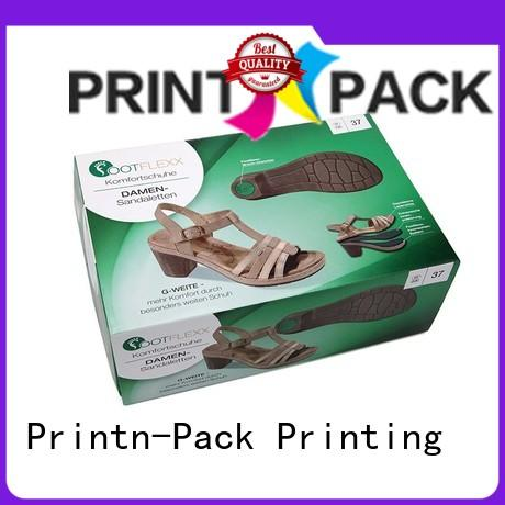 Printn-Pack modern shoe packaging design factory for gifts