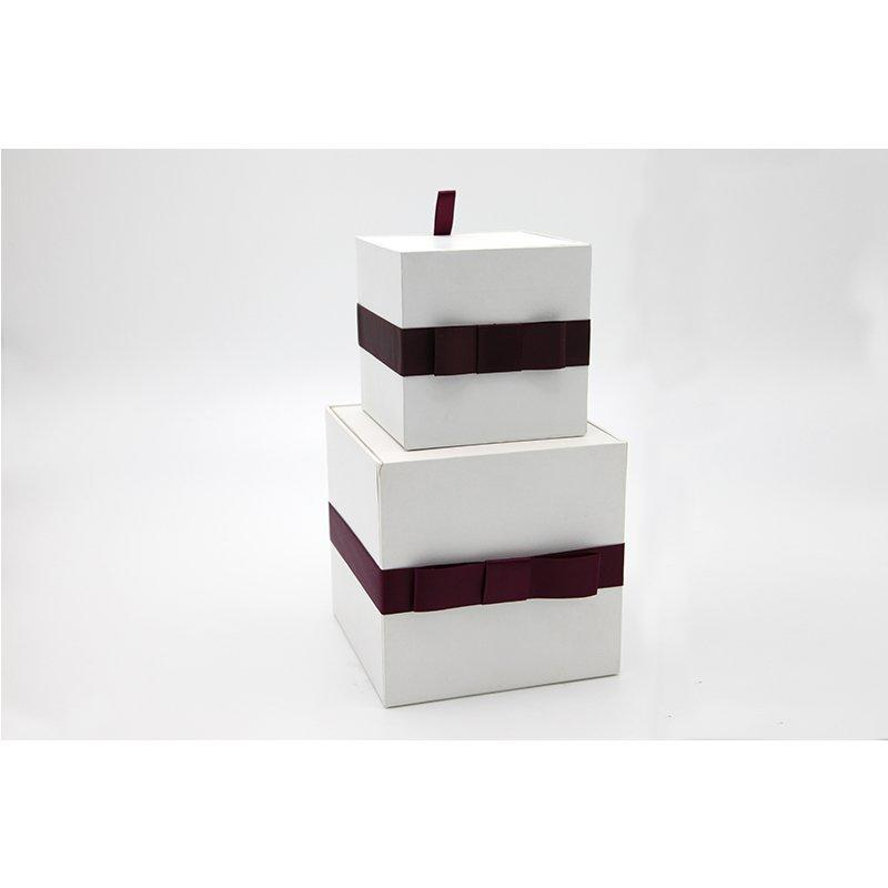 Small White Cardboard Paper Gift Box