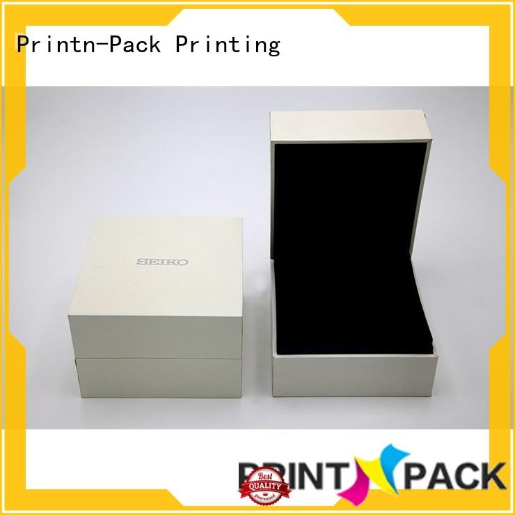 customized logo custom jewelry boxes satin fabric series for necklace